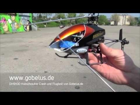 """Double Horse DH 9100 FP 4ch - Un Helicóptero """"indestructible"""""""