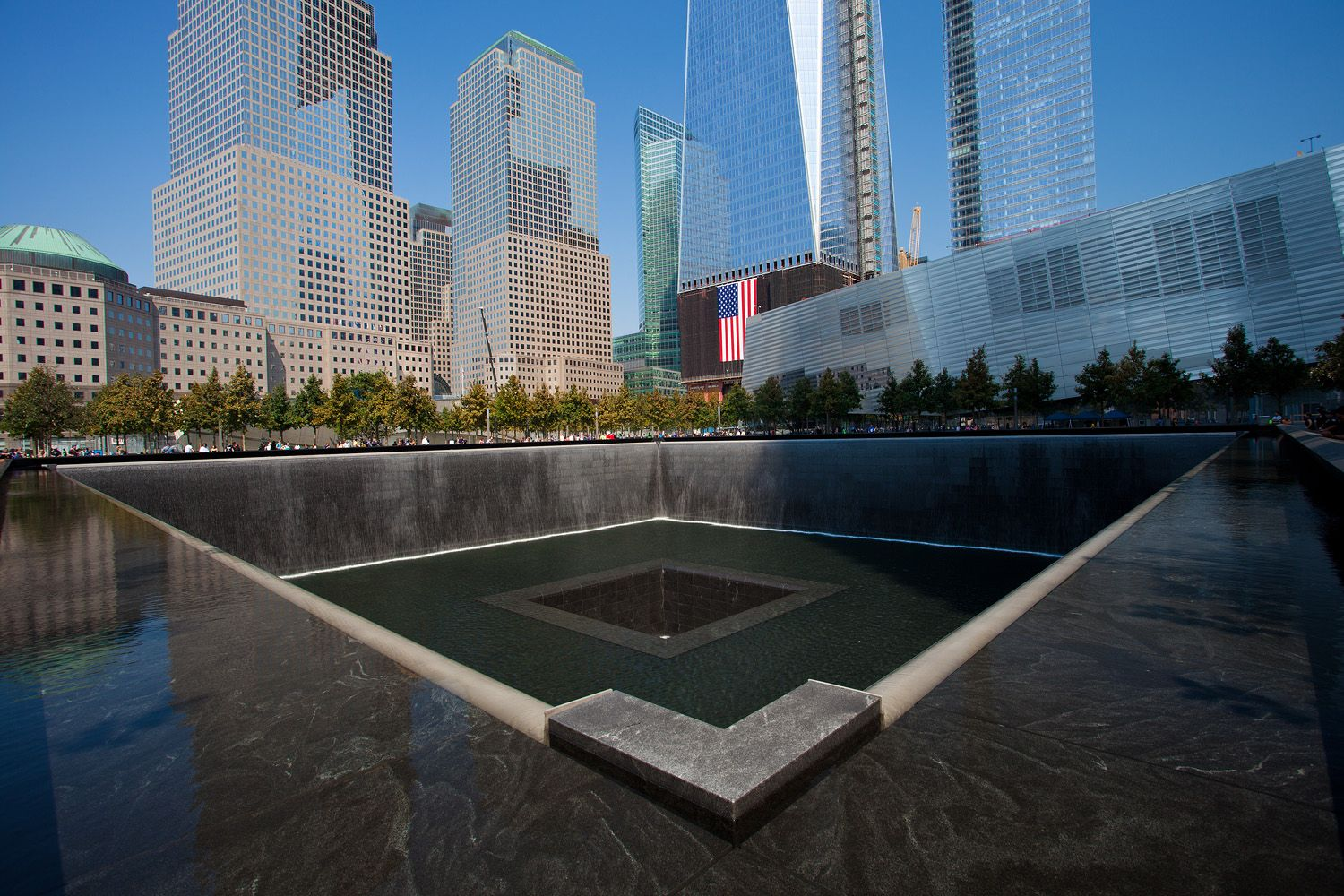 Ground Zero NYC. A visit here should be on every American's bucket list. We must never forget. #groundzeronyc