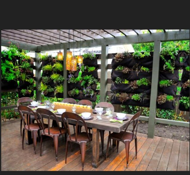 For Privacy a little Greenery goes a long way