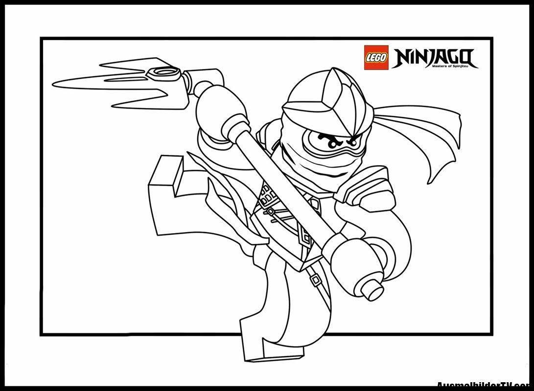 Ninjago Zane Ausmalbilder : Ausmalbilder Ninjago Bilder Zum Ausmalen Kleurplaten Manu