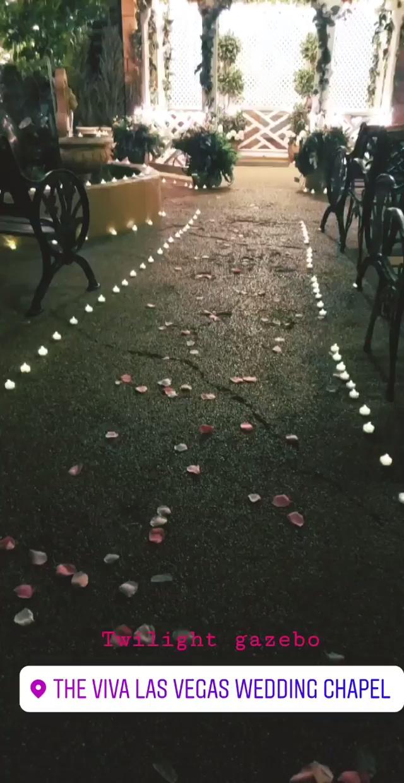 Photo of Las Vegas Gazebo wedding