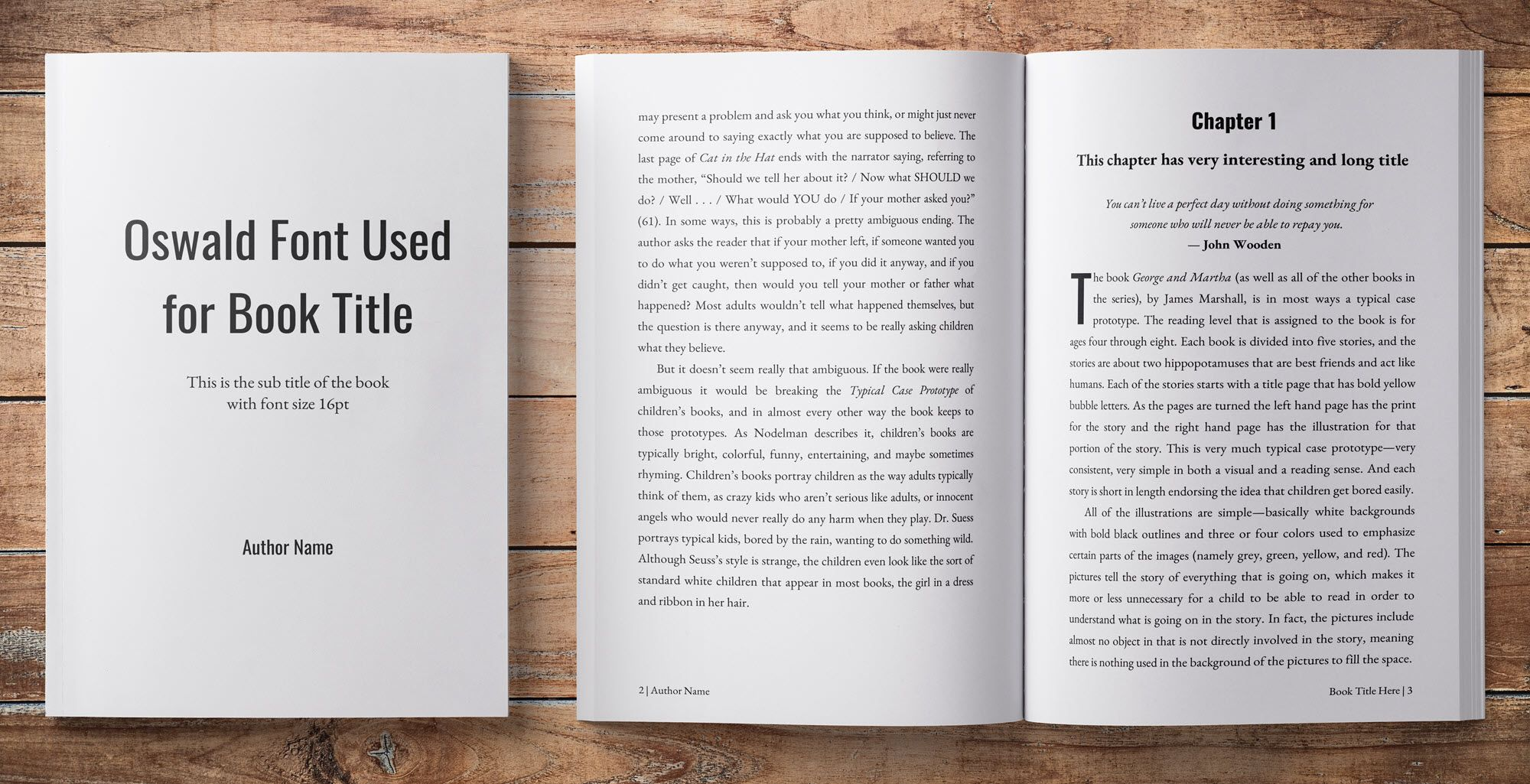 Book Layout Design Template Book Layout Book Template Book Design Layout