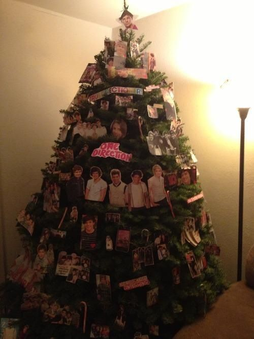 I asked my mom if I could have this tree and she said no...