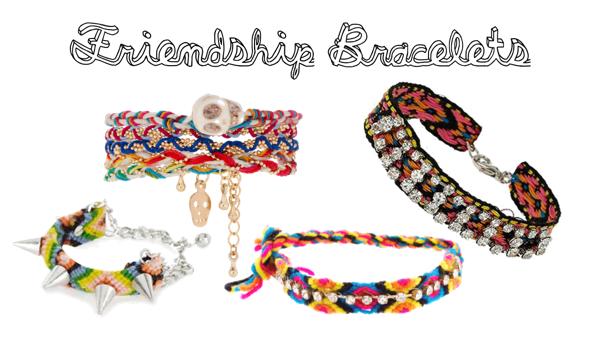 pulseiras da amizade