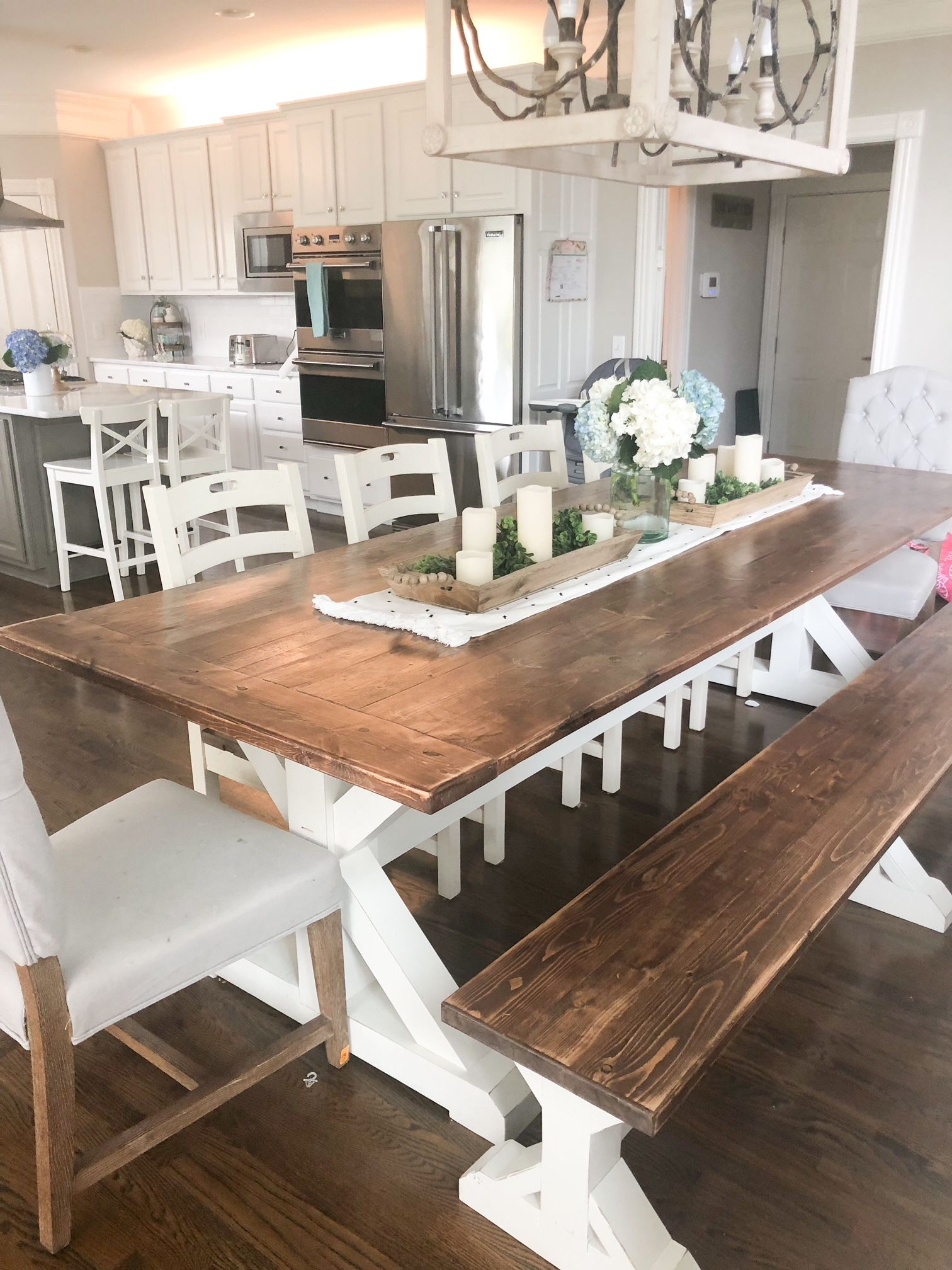 Property Brothers Dream Home The Dining Area With Custom Farmhouse