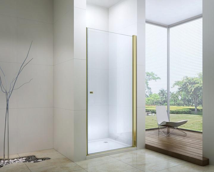 Mexen Gold Pretoria Shower Door 6mm