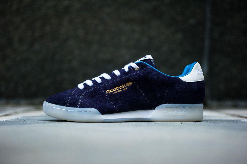 233f53e442c9e Reebok X Hanon NPC II - Purple Ink Basketball Shoes