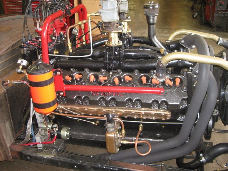 Seagrave Pierce Arrow V12 Engine In Model A Engines
