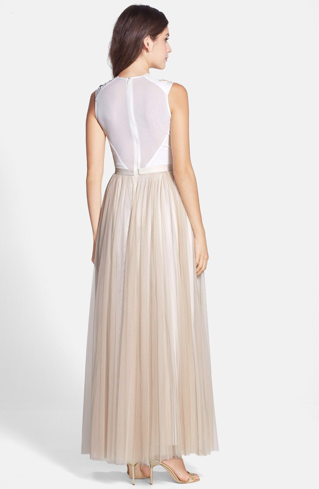 Needle & Thread \'Trailing Floral\' Embellished Gown | Bridesmaid ...