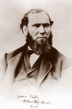 Allan Pinkerton S Detective Agency Badge Historical People