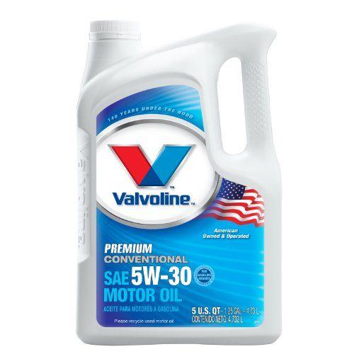 Valvoline 7794613pk Premium Conventional 5w30 Motor Oil 5 Quart