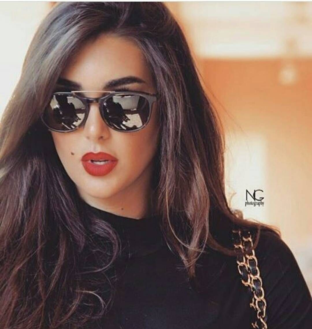 ياسمين صبري On Instagram حسناء Cool Hairstyles Mirrored Sunglasses Women Arab Beauty