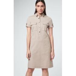 Hemdblusen-Kleid in Beige windsor  fruhling hochzeitsmotto