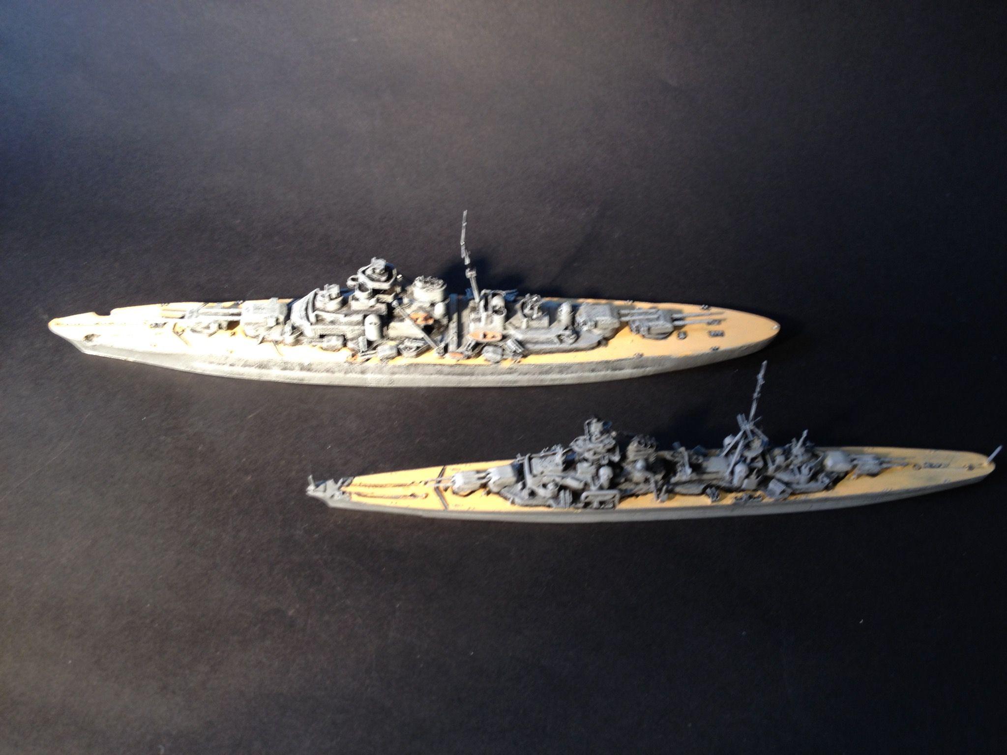 KMS Priz Eugen  KMS Bismarck