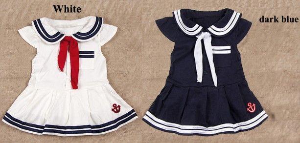 26ac111ea39e Baby Infant Kid Child Toddler Newborn Boy Girl Navy Marine Grow ...