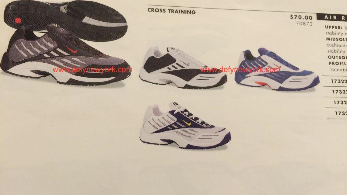 38e167fb99b Nike Air Respite Cross Training Shoe 2000   DeFY. New York-Sneakers ...