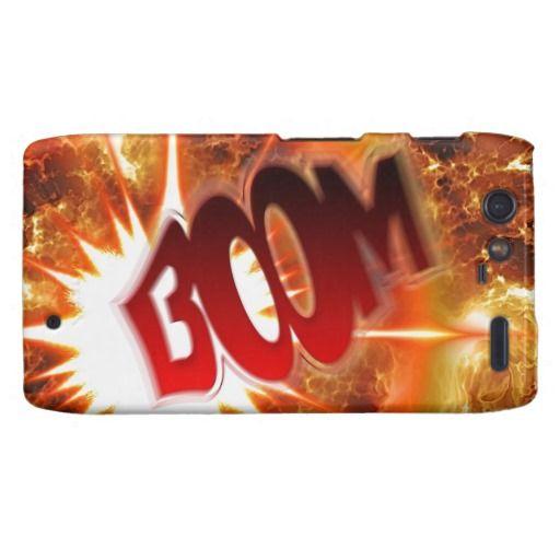 Boom! Motorola Droid RAZR Covers