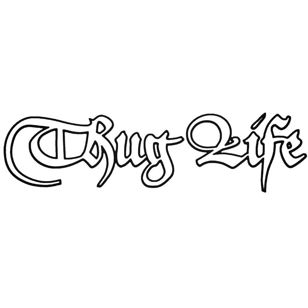 Thug Life Custom Sticker