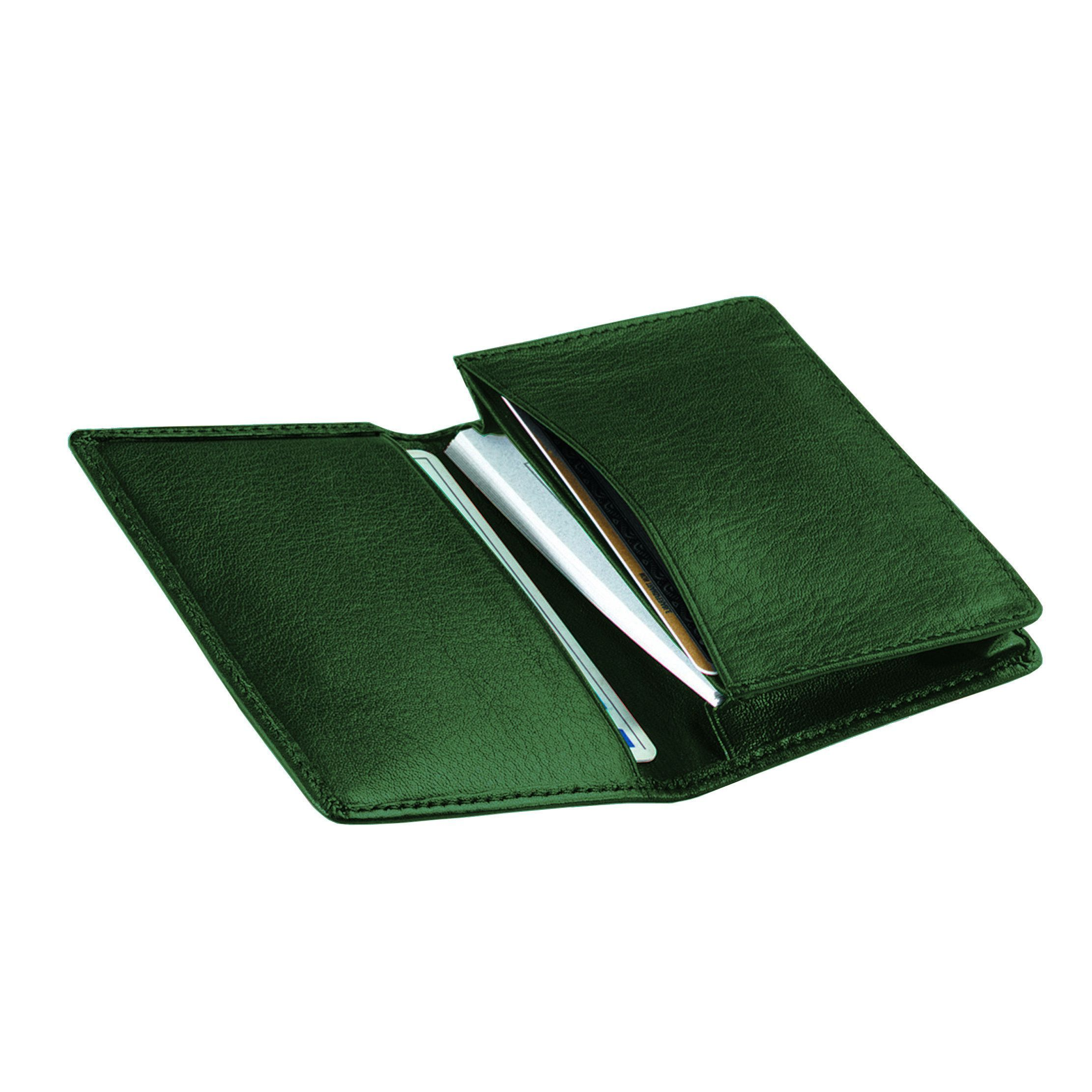 Royce Top-grain Nappa Executive Business Card Case | Work plan ...