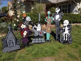 nightmare before christmas lawn decorations - Nightmare Before Christmas Lawn Decorations