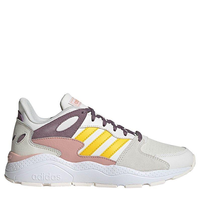Adidas Women's Crazychaos Sneakers (Cloud White/Yellow ...