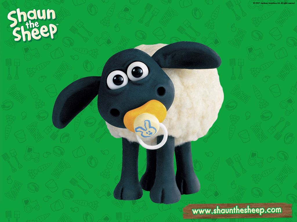 Wallpapers Shaun The Sheep Ovelha Chon Portugal Timmy Time Exclusivo   1024x768