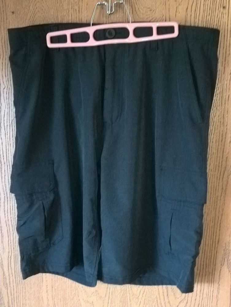 5d9ebe8152 Mens No Fear Performance Black Athletic Cargo Shorts Size 36 #fashion  #clothing #shoes #accessories #mensclothing #shorts (ebay link)