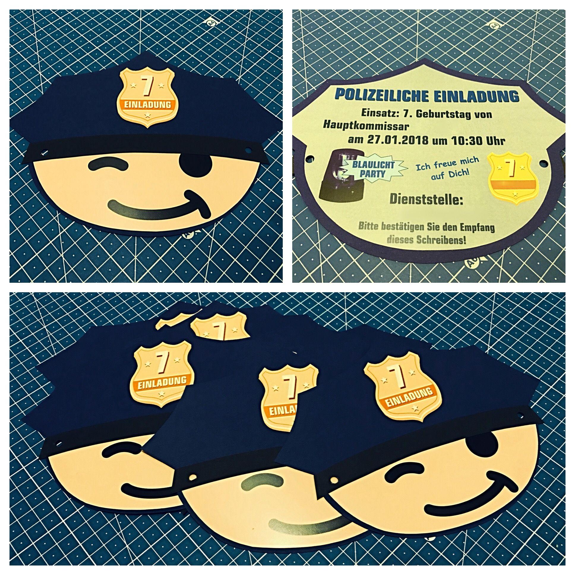 Kindergeburtstag Polizei Spiele