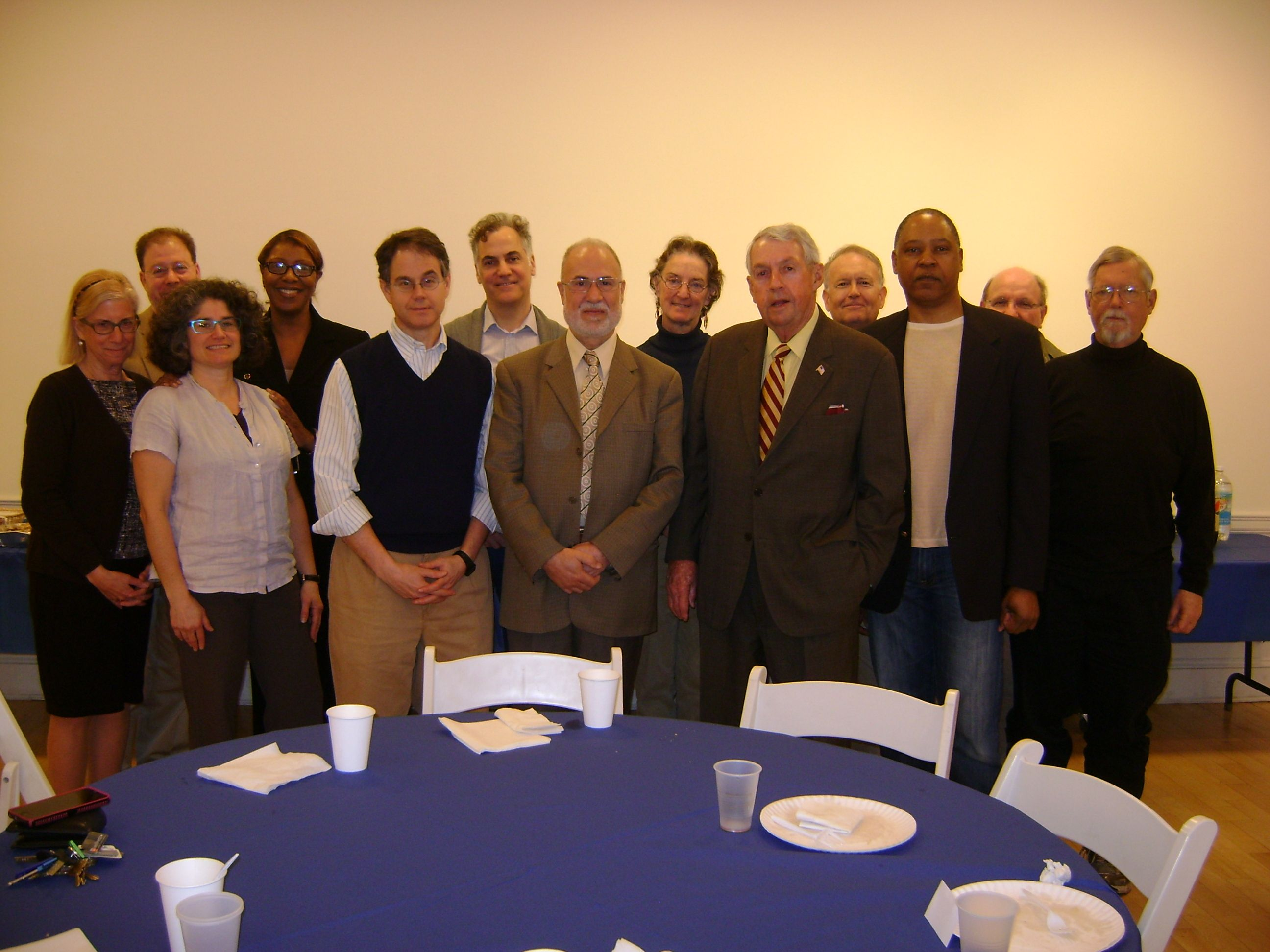 DA Hynes met with Brooklyn Heights clergy members and guests