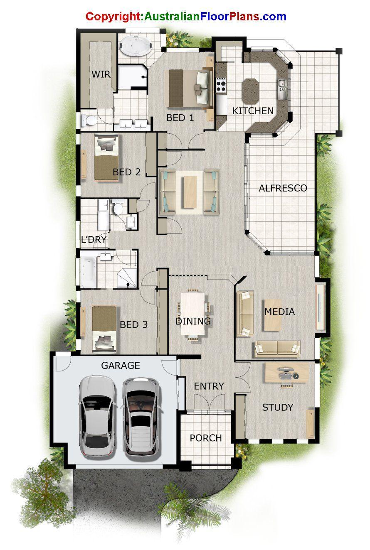 Pin De Kathy Mcdonald En My House Floor Plans Plano De Planta Casas De Una Planta Arquitectonico