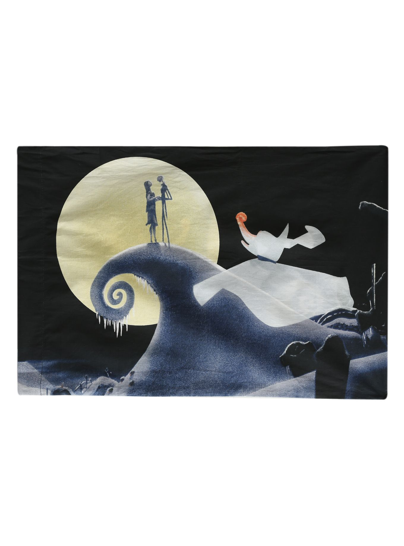 The Nightmare Before Christmas Jack Sally And Zero Pillowcase | Hot Topic