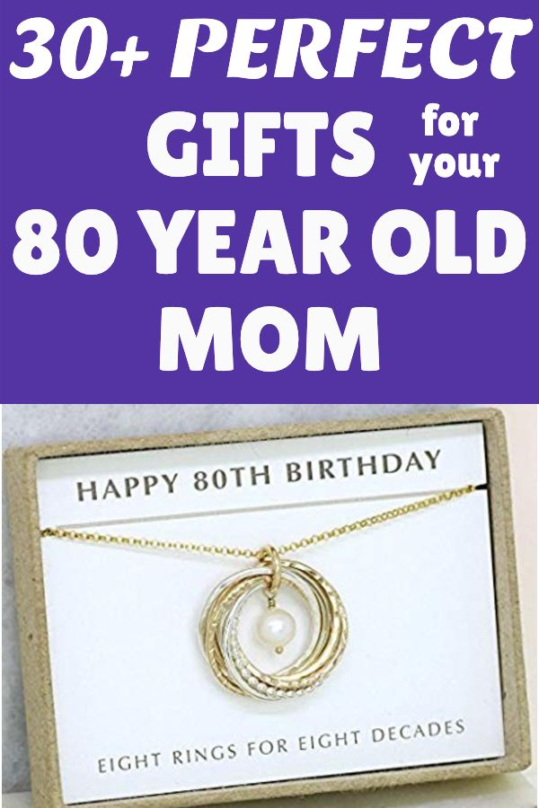 80th Birthday Gift Ideas for Mom | 80th Birthday Gift ...
