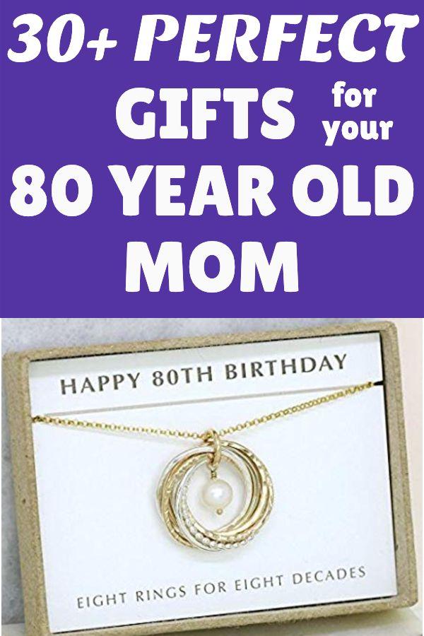 80th Birthday Gift Ideas For Mom 80th Birthday Gift