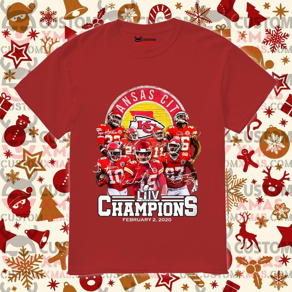 Kansas City Chiefs Super Bowl LIV Champions February 2