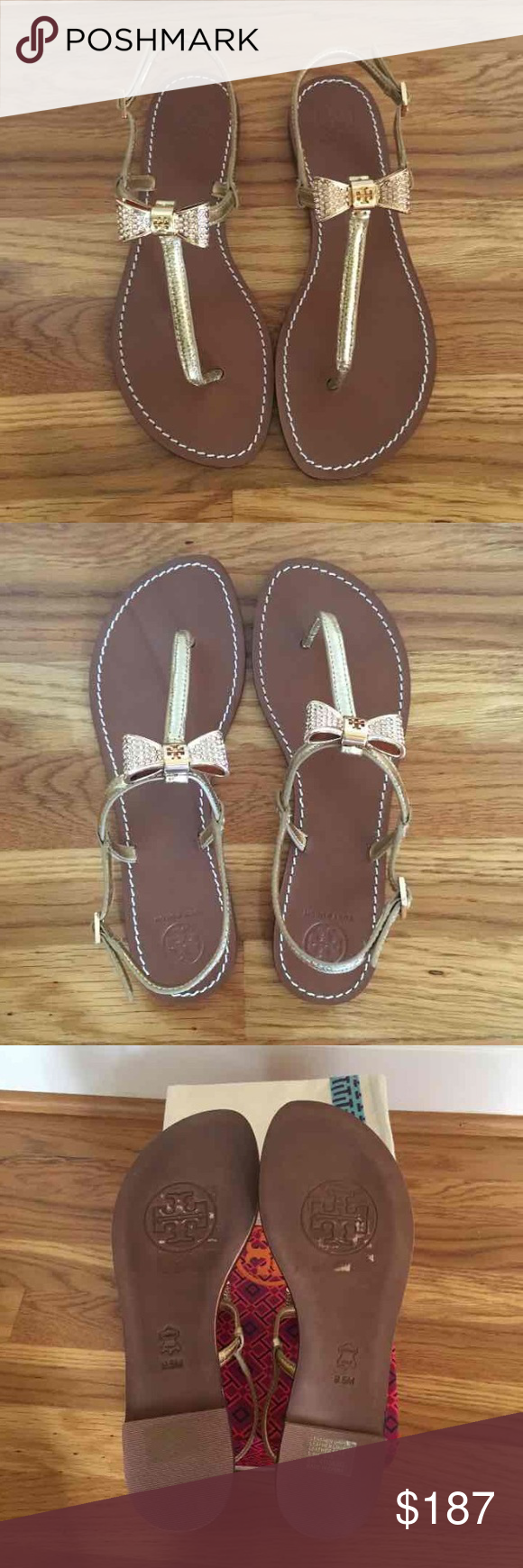 5f2ec9039995 ❗️LAST CHANCE❗  250 Tory Burch sandal sz 8.5 New with tags and ...