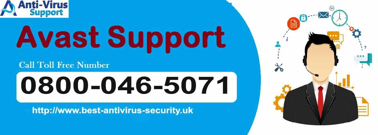 Avast Help Number UK 08000465071 Avast Helpline Number