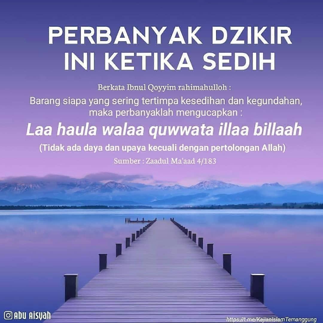 Sahabat Muslimah On Instagram Semoga Bermanfaat By Abuaisyah Sahabatmuslimah Kutipan Agama Kekuatan Doa Doa