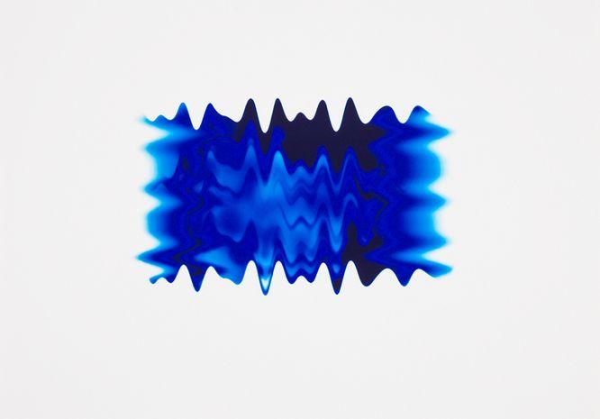 Peter Saville / New Wavy Blue II