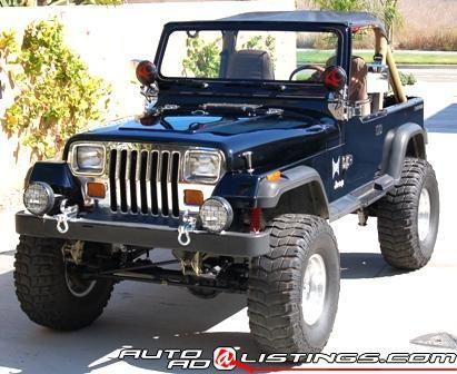 1987 Jeep Wrangler 1987 Jeep Wrangler Jeep Yj Jeep