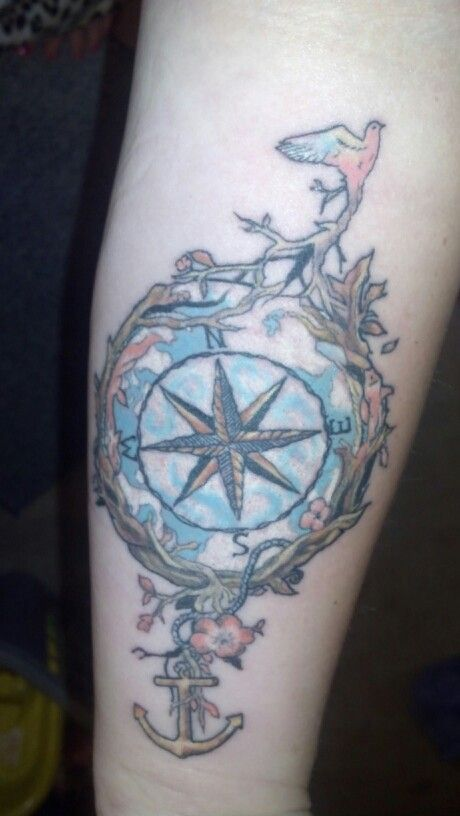 My compass done beautifully by Ryan Ford