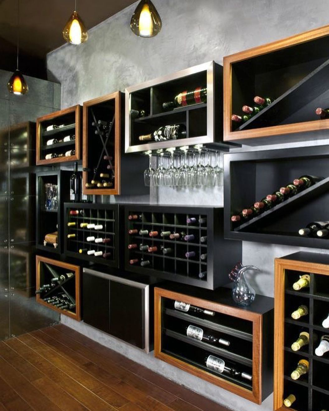 Pin De Isabelle En Bar E Adega Habitaciones De Vino Cavas Caseras Diseños De Bares De Casa