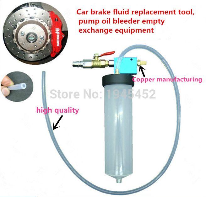 Big Sale Auto Car Brake Fluid Oil Change Replacement Tool Pump Oil Bleeder Empty Exchange Drained Kit Equipment Tool Brake Fluid Oil Change Oils