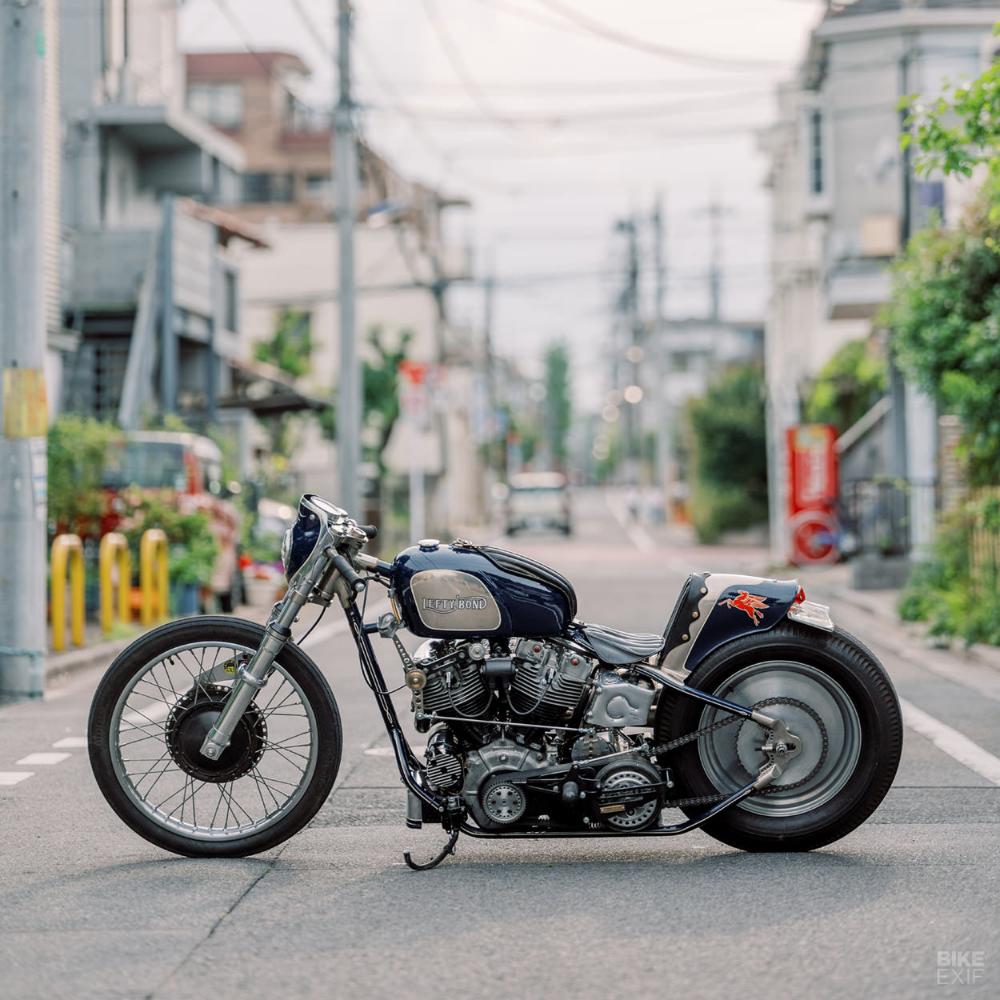 Marc And Christine Shoot Japanese Custom Motorcycles Custom Motorcycles Bobber Custom Motorcycles Ducati Monster Custom [ 1000 x 1000 Pixel ]