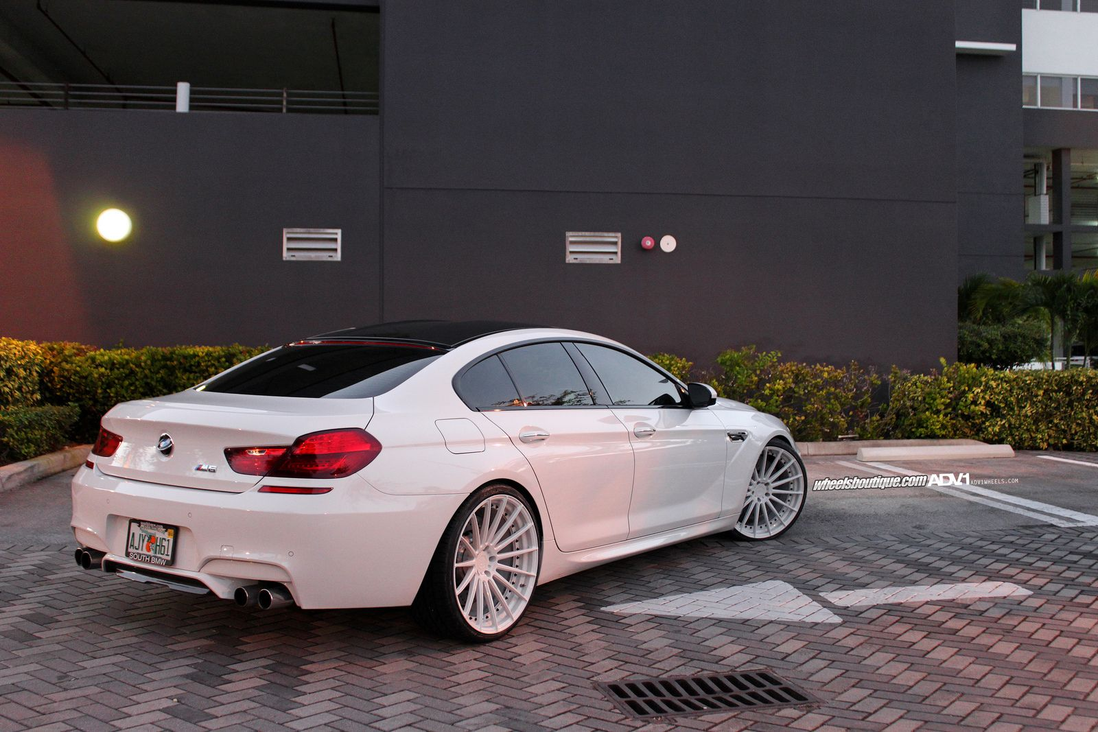 bmw m6 gran coupe on adv 1 mv2 wheels tuning pinterest. Black Bedroom Furniture Sets. Home Design Ideas