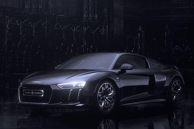 Audi Creates Final Fantasy Edition R8 Motor Trend Final Fantasy Final Fantasy Xv Audi