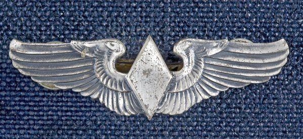 WASP wings World War II  US