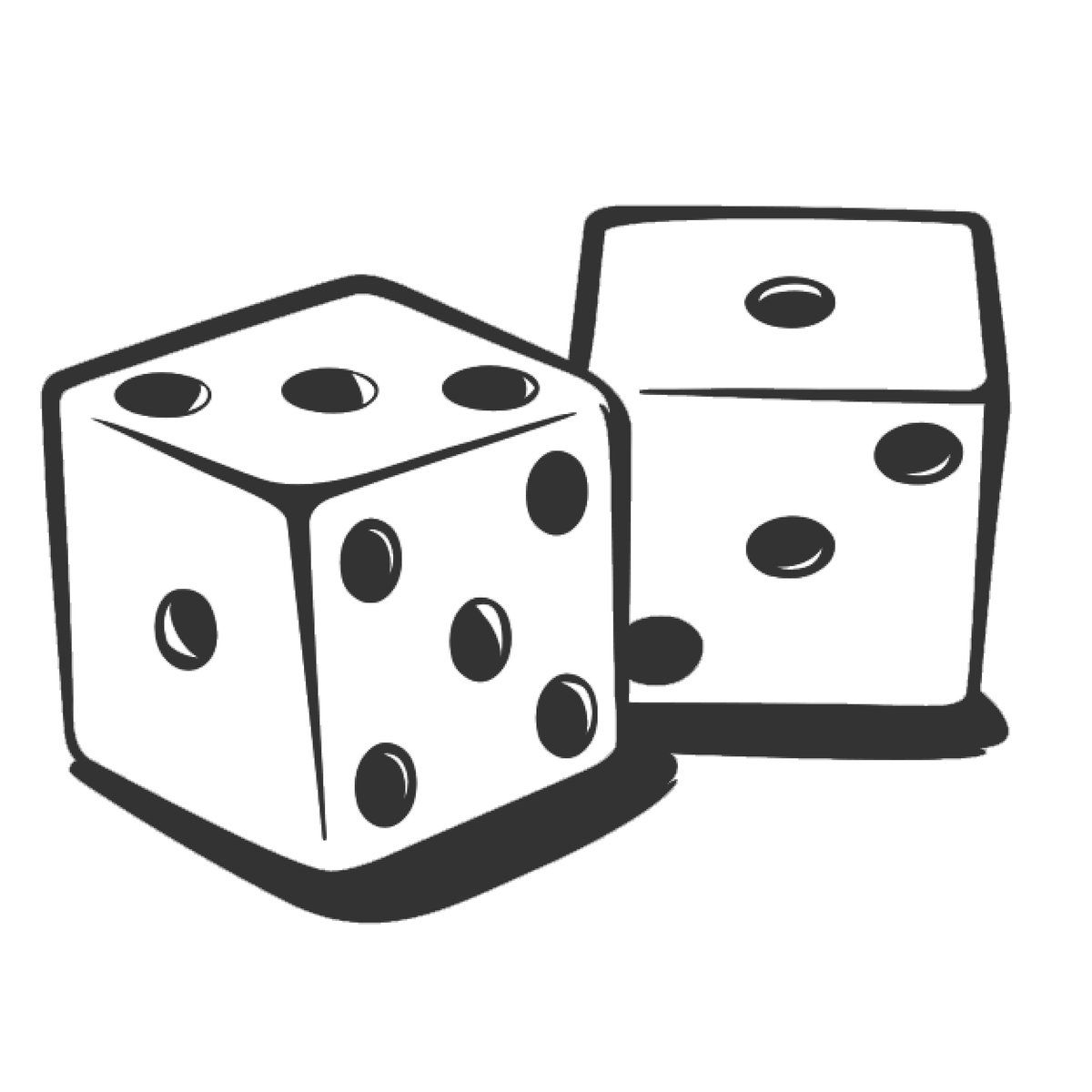 Gaming Clipart Roll Dice Frames Illustrations Hd