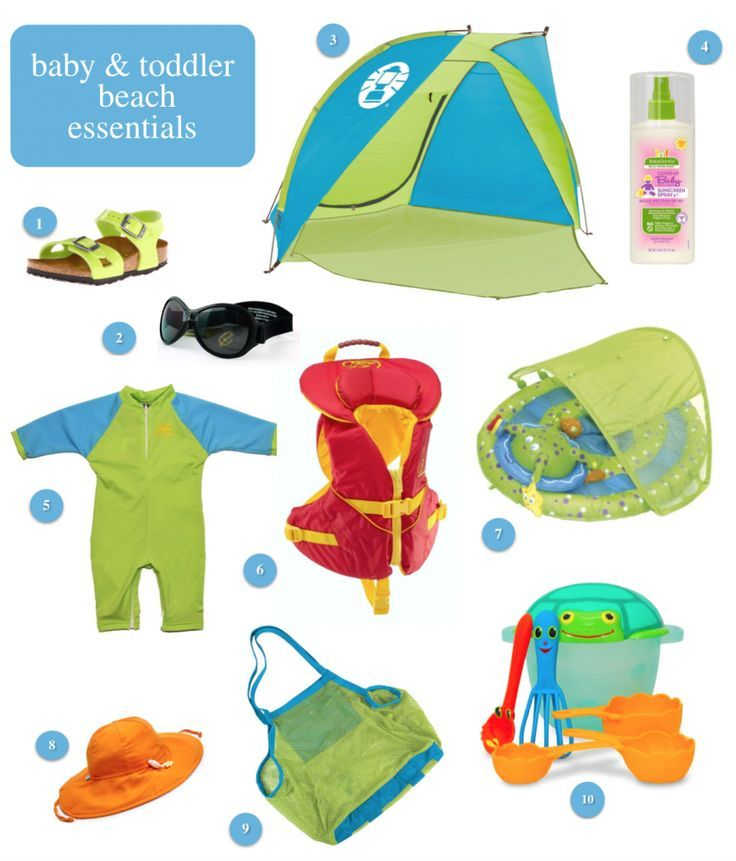 Baby Beach Tips Gear Traveling With Travel