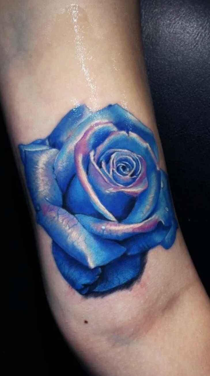 I love this blue rose tattoo tattoos pinterest blue rose i love this blue rose tattoo izmirmasajfo
