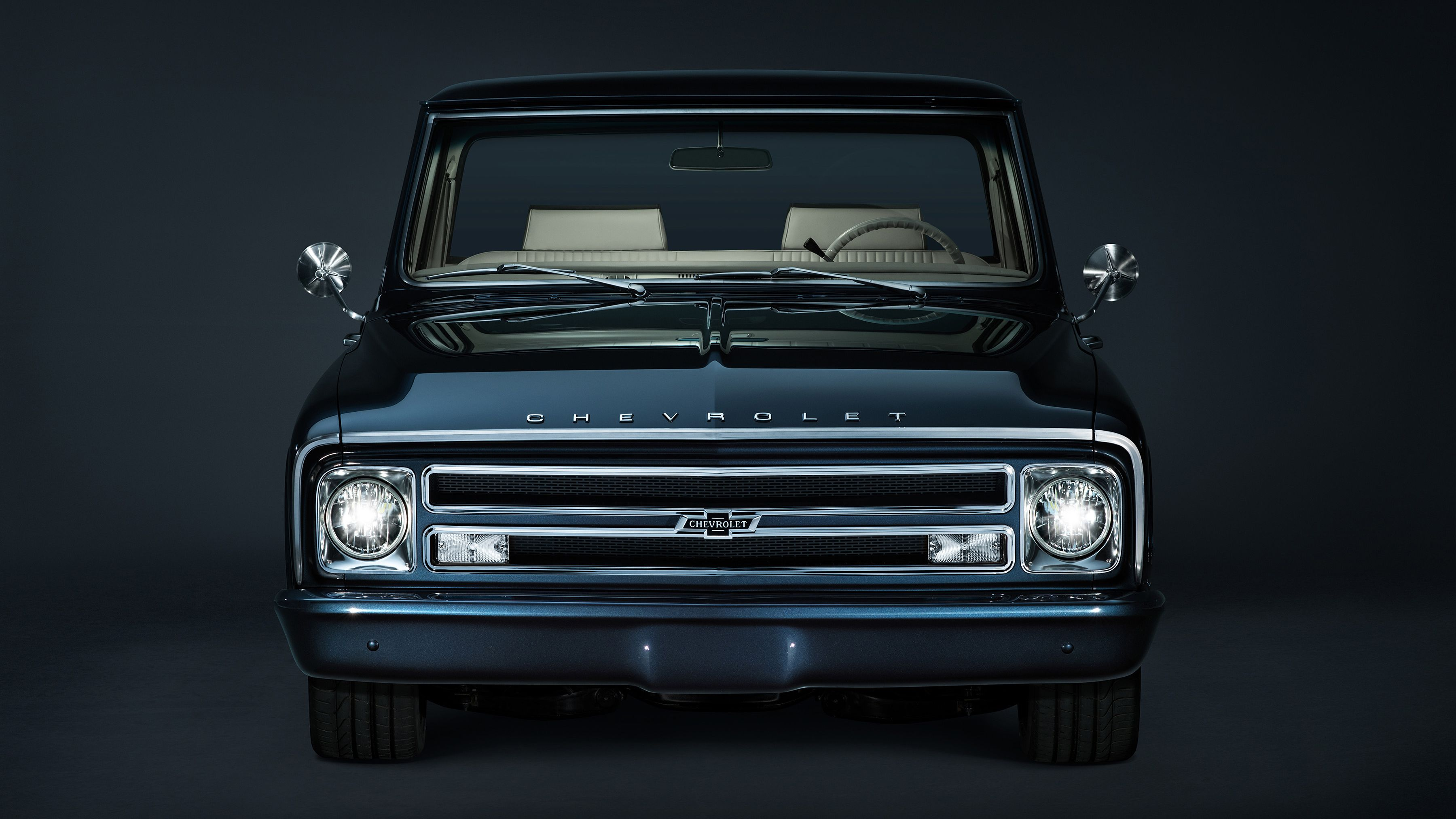 1967 Chevrolet C10 Centennial Sema Truck Wallpaper Hd Car